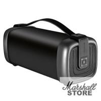 Портативная акустика Ginzzu GM-878B, 12W, BT, FM, влагозащищенная, черный