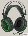 Гарнитура Defender DeadFire G-530D, USB, черный/зеленый (64531)
