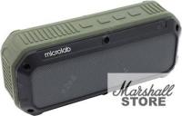 Портативная акустика Microlab D861BT, черный/зеленый