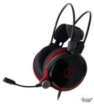 Гарнитура Audio-Technica ATH-AG1X, черный/красный