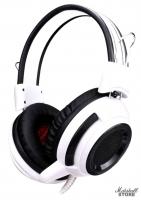 Гарнитура Oklick HS-G300, белый/черный (AH-V1W)