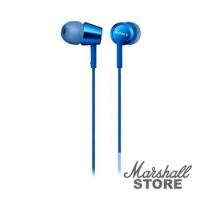 Наушники с микрофоном Sony MDR-EX155APLi, синий