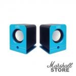 Акустика 2.0 CBR CMS 303, 2x3W, USB, синий