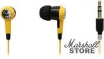 Наушники SmartBuy Toxic внутриканальные, желтые (SBE-2600)