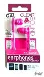 Наушники GAL M-005P-F Розовый
