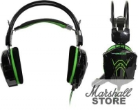 Гарнитура SmartBuy RUSH COBRA, черный/зеленый (SBHG-1200)