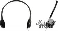 Наушники с микрофоном Genius HS-M200C, черный