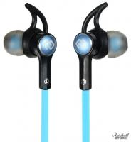 Гарнитура Bluetooth Digma BT-03, черный/синий