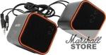 Акустика 2.0 SmartBuy CUTE, 6W, USB, черный/оранжевый (SBA-2590)