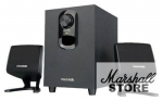 Акустика 2.1 Microlab M108 (11W RMS, Wood), Black