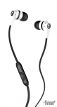 Наушники с микрофоном Skullcandy Ink'd 2.0 White/Black/White (S2IKFY-074)
