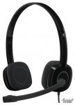 Гарнитура Logitech Stereo Headset H151, Черный (981-000589)