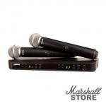 Микрофон SHURE BLX288E/SM58 M17, динамический, черный