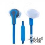 Наушники Perfeo PF-SPT-BLU/GRY, синий/серый