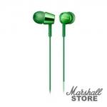 Наушники с микрофоном Sony MDR-EX155APG, зеленый
