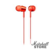 Наушники Sony MDR-EX155R, красный
