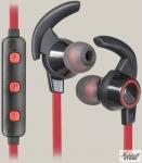 Гарнитура Bluetooth Defender OutFit B725, черный/красный (63726)