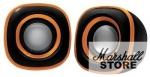 Акустика 2.0 BBK CA-301S, 2x1.5W, USB, черный/оранжевый