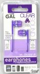 Наушники GAL M-005V-F Фиолетовый