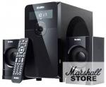 Акустика 2.1 SVEN MS-2000, 2x11W + 18W, MDF, SD, FM, ПДУ, Black