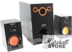 Акустика 2.1 DEFENDER SIROCCO M30 PRO 20W+2*5W, беспроводной пульт ДУ, MP3 player, USB, SD, FM, wood