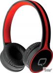 Гарнитура Bluetooth Qumo Accord 3, черный/красный