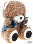 Портативная акустика RITMIX ST-250 Bear BT, 2x3W, MicroSD, FM, AUX, Bluetooth, 2000 мАч, коричневый