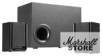 Акустика 2.1 CROWN CMS-410, черный/серый 16W+2x12W, черный