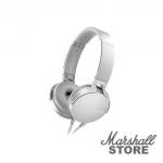 Гарнитура Sony MDR-XB550AP, белый