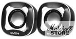 Акустика 2.0 SVEN 170, 2x2.5W, USB, черно-белый (SV-013523)