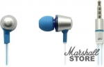 Наушники с микрофоном SVEN SEB-190M, Серебристый-синий (SV-013042)
