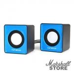 Акустика 2.0 Гарнизон GSP-100, 2x1W, USB, синий/черный