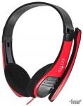 Гарнитура Oklick HS-M150, черный/красный (359486)
