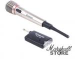 Микрофон Defender MIC-140, динамический, беспроводной, Metallic