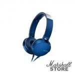 Гарнитура Sony MDR-XB550AP, синий
