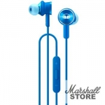 Гарнитура Honor Monster N-Tune200, mini jack 3.5 mm, синий (AM17)