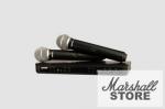 Микрофон SHURE BLX288E/PG58 M17, черный