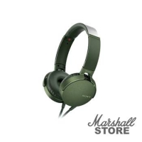 Гарнитура Sony MDR-XB550AP, зеленый